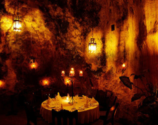 Ali Barbour's Cave Restaurant