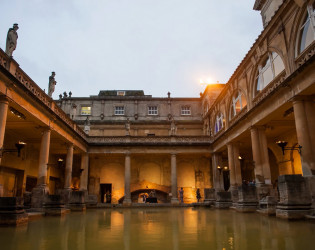 The Roman Baths and Pump Room