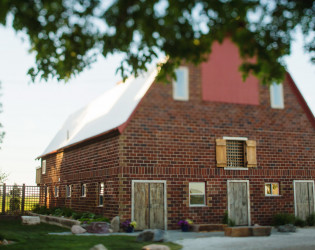 The Keller Brick Barn