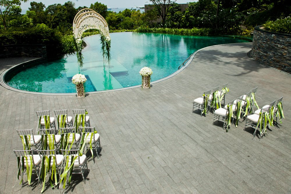 Capella hotel singapore wedding