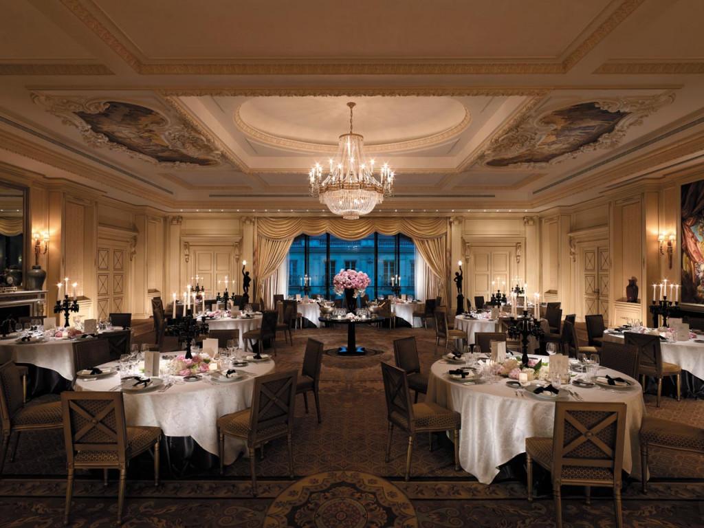 Shangri la hotel paris paris le de france france for Le salon paris