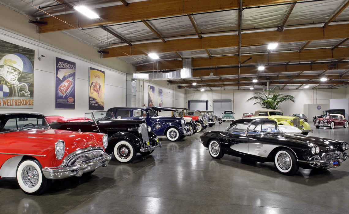 Crevier Classic Cars   Costa Mesa, California - Venue Report