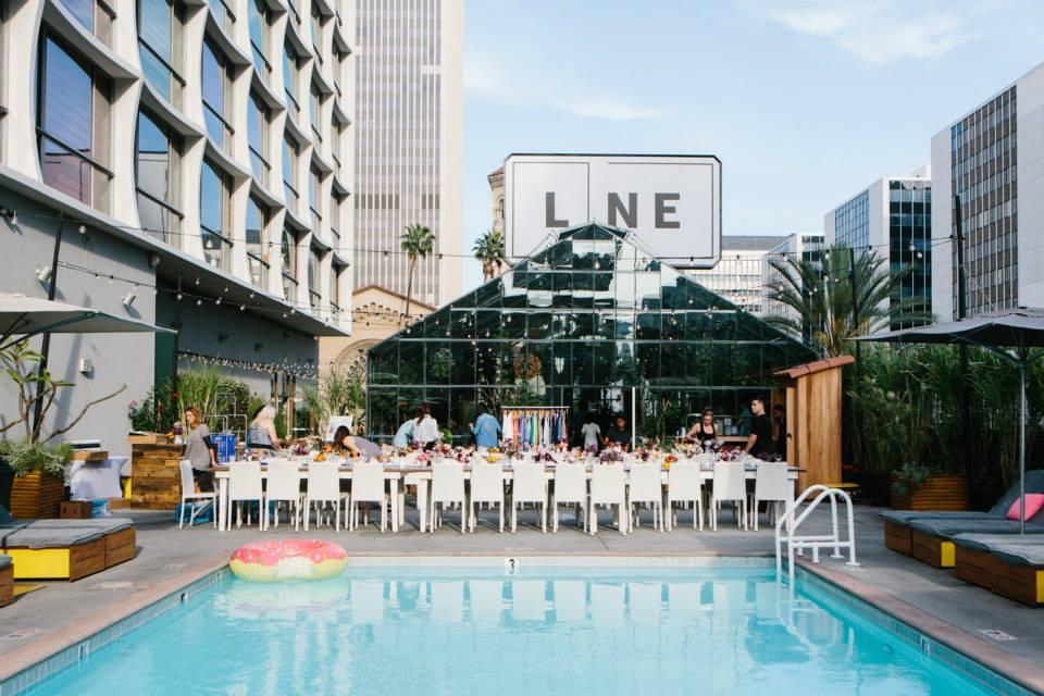 The line hotel los angeles california venue report for Line hotel los angeles