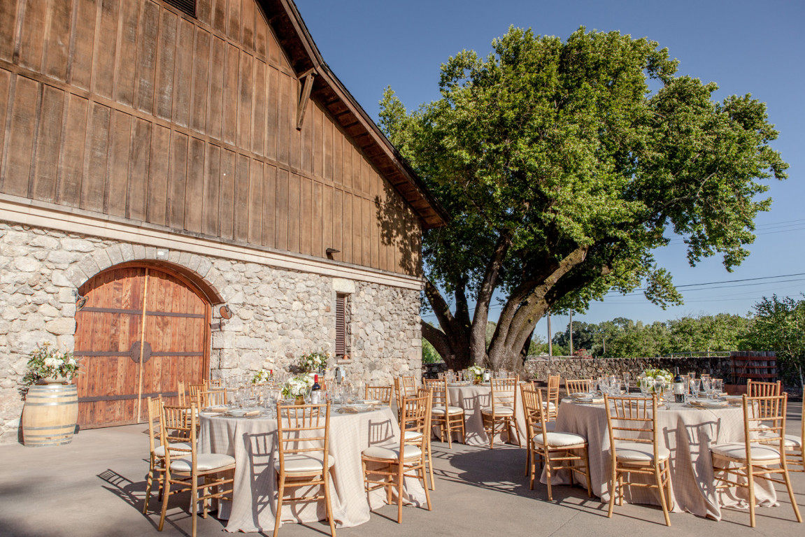 Valley of the moon winery at madrone estate glen ellen for Outdoor wedding venues ma