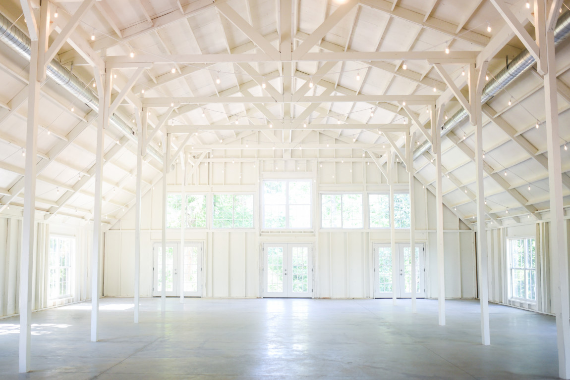 We Have Curated The Open And Airy Rustic But Chic All White Wedding Venue Of Your Dreams