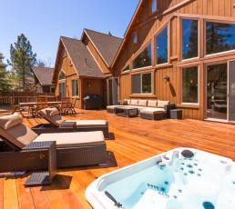 Heavenly Log Home