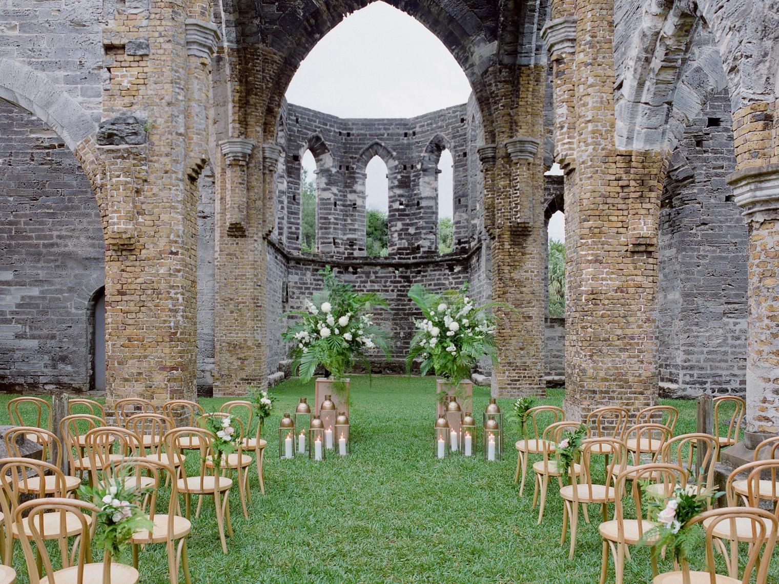 21 of the Dreamiest Wedding Venues in Bermuda