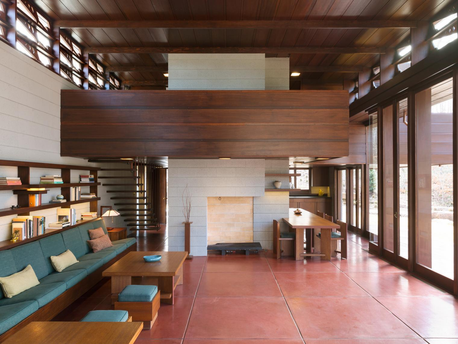 you can sleep inside some of these famous frank lloyd wright homes
