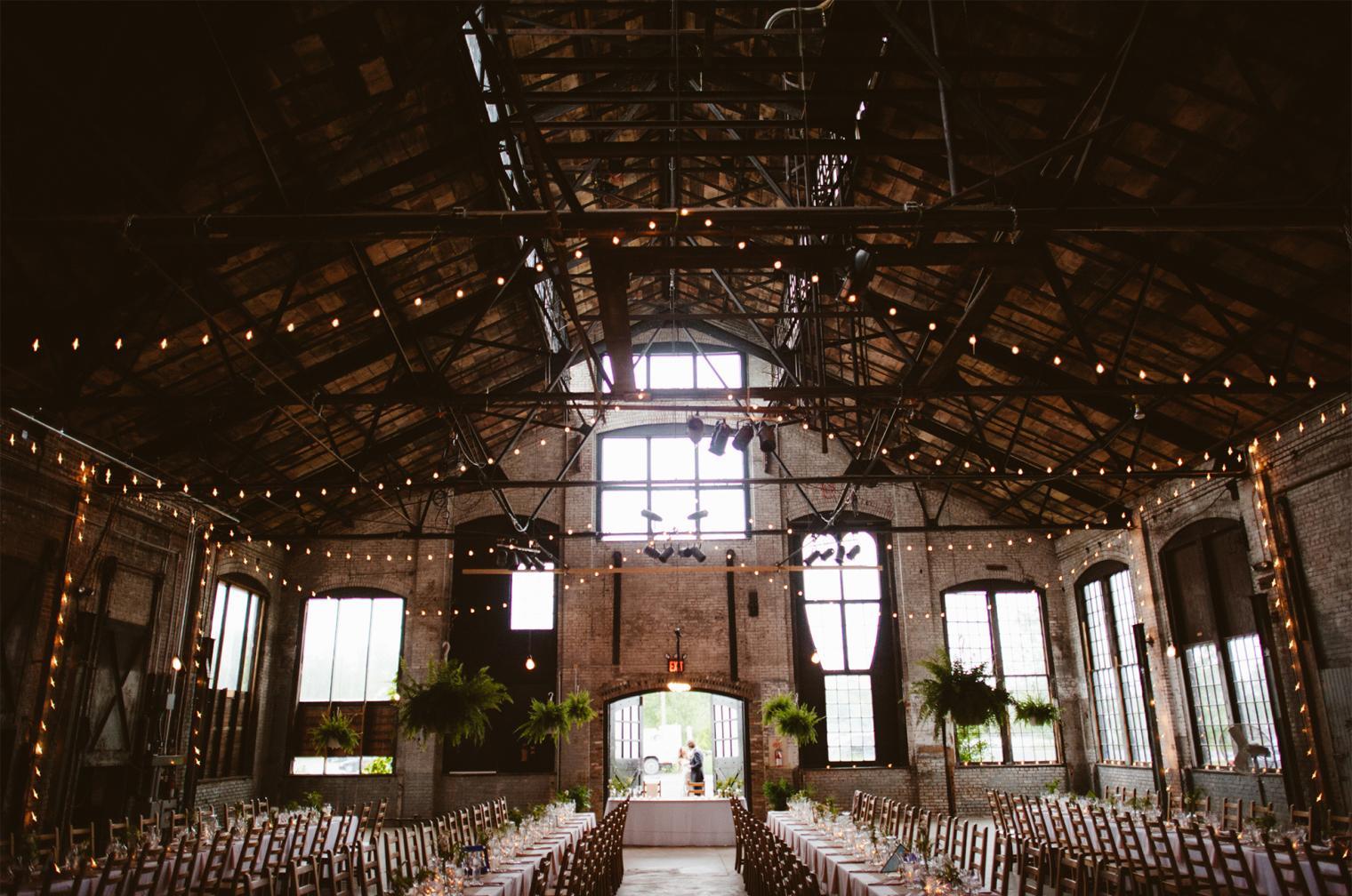 Woodsey Raw Upstate New York Wedding Venues