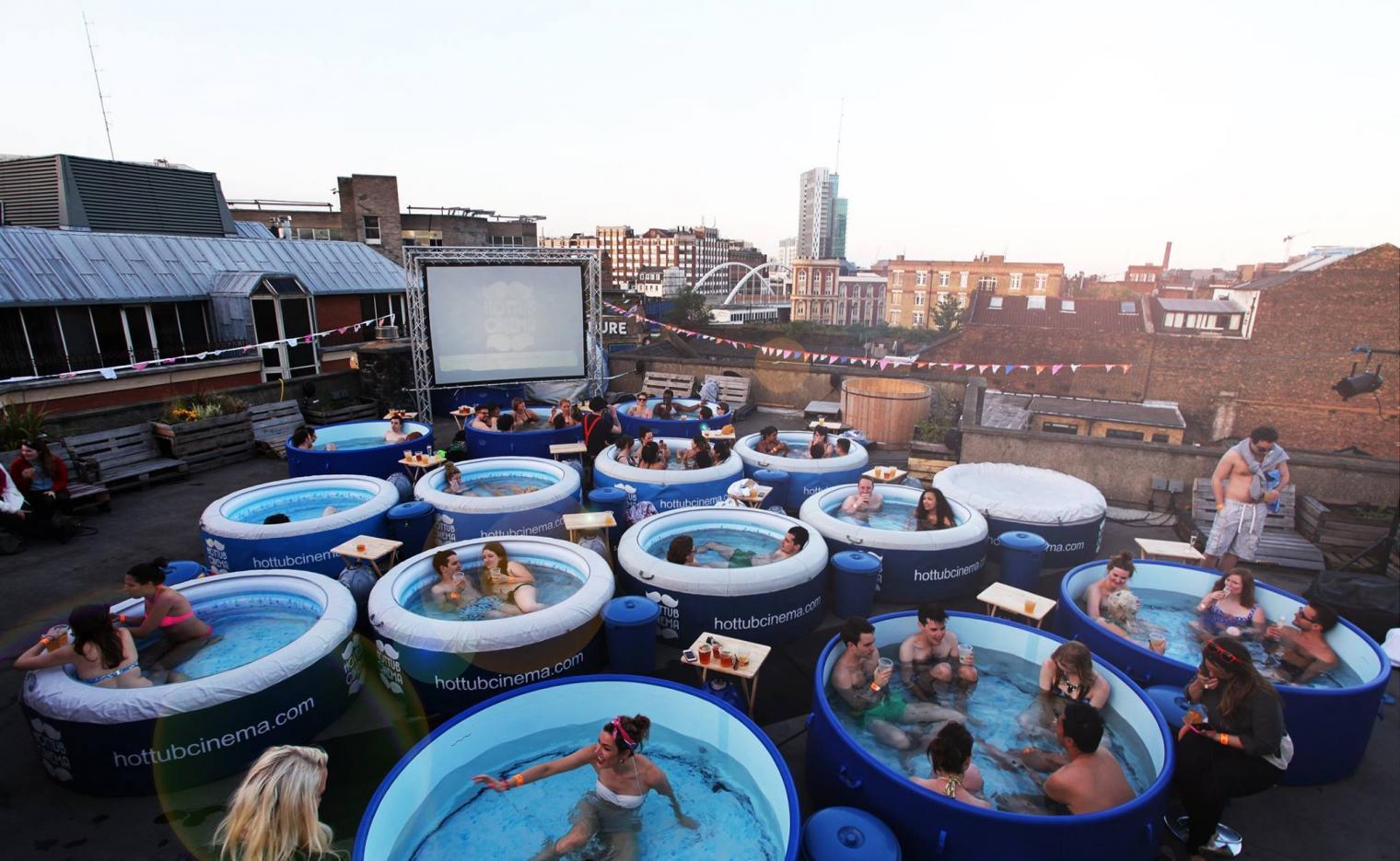 Hot tub cinema speed dating