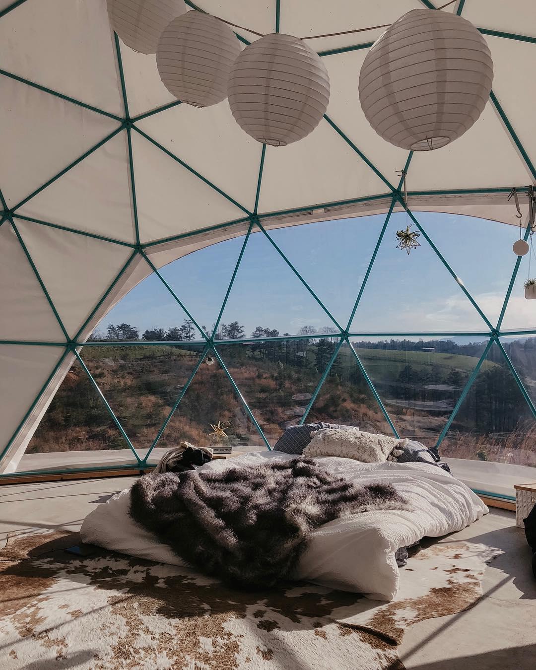浪漫的野外露营 帐篷酒店阿什维尔露营