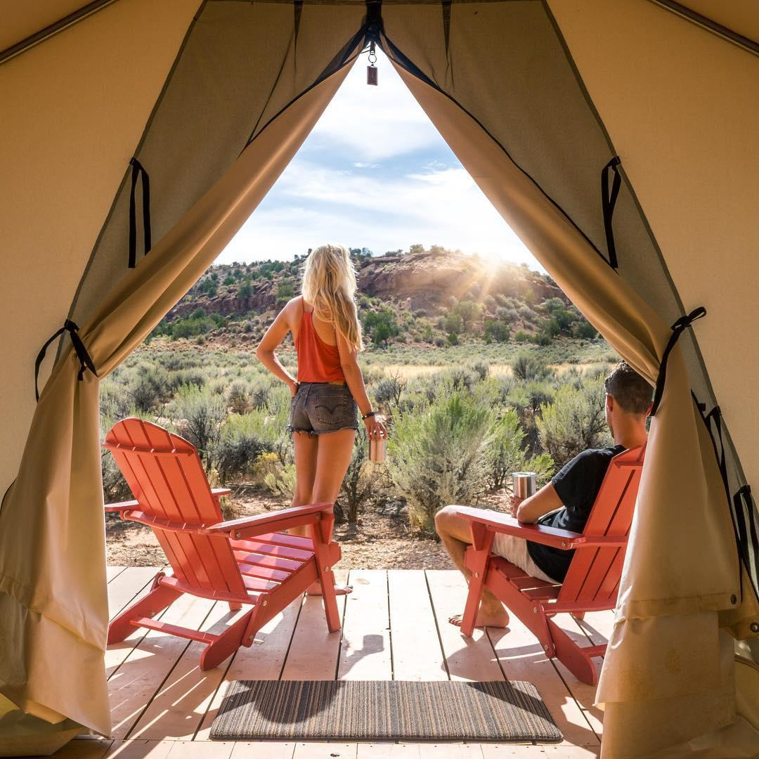 浪漫的野外露营 帐篷酒店大本营37°