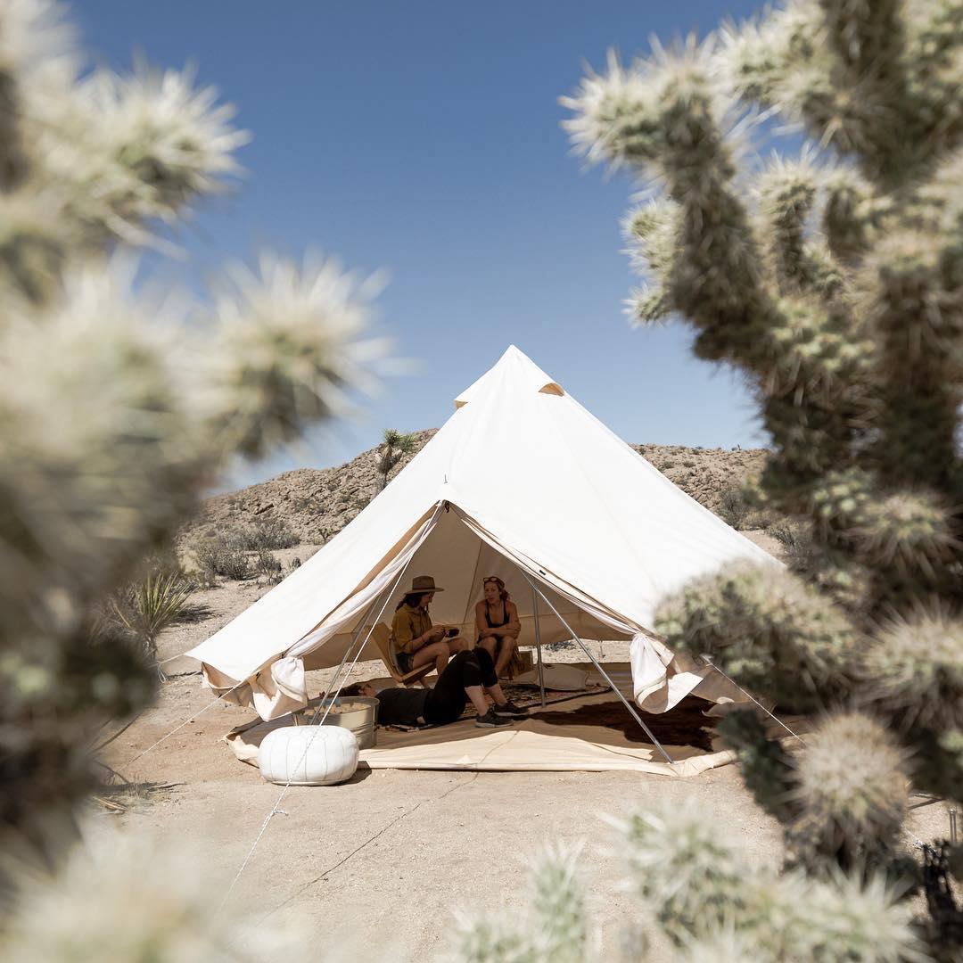 浪漫的野外露营 帐篷酒店露营