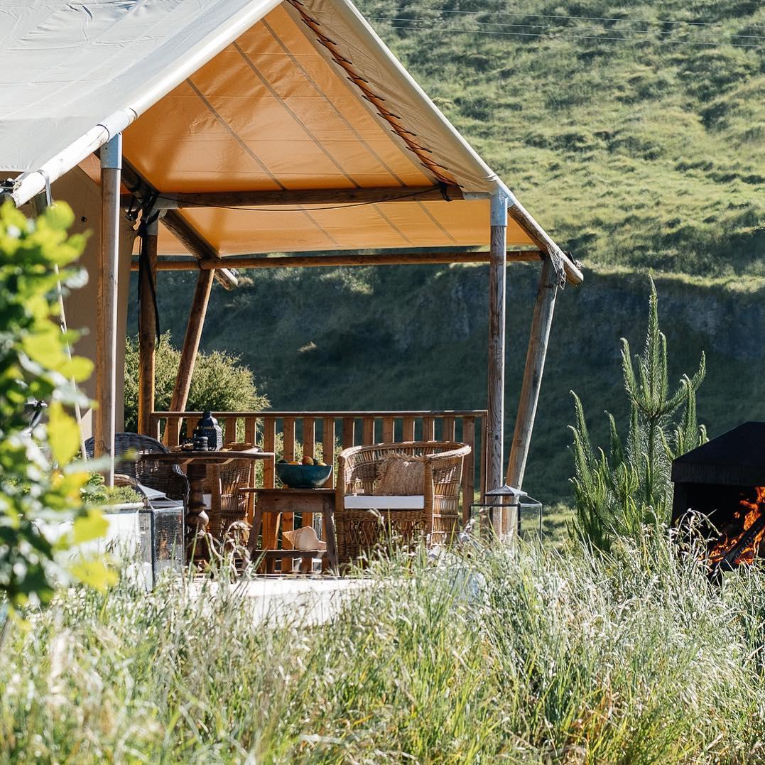 浪漫的野外露营 帐篷酒店克利夫顿豪华帐篷
