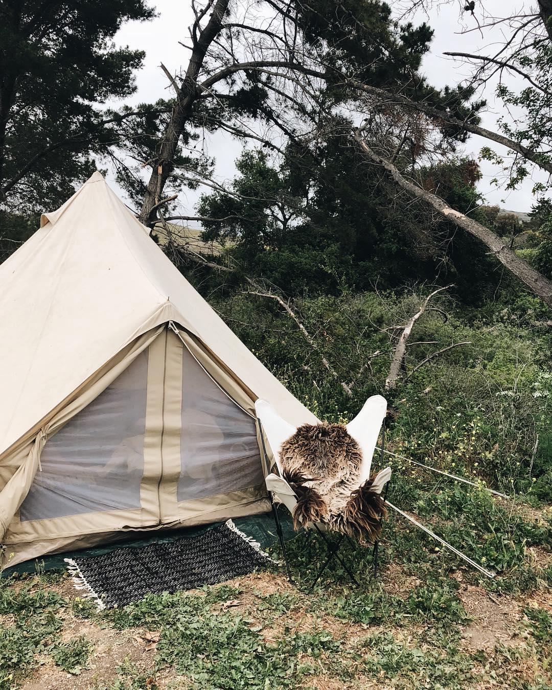 浪漫的野外露营 帐篷酒店埃尔卡皮坦峡谷