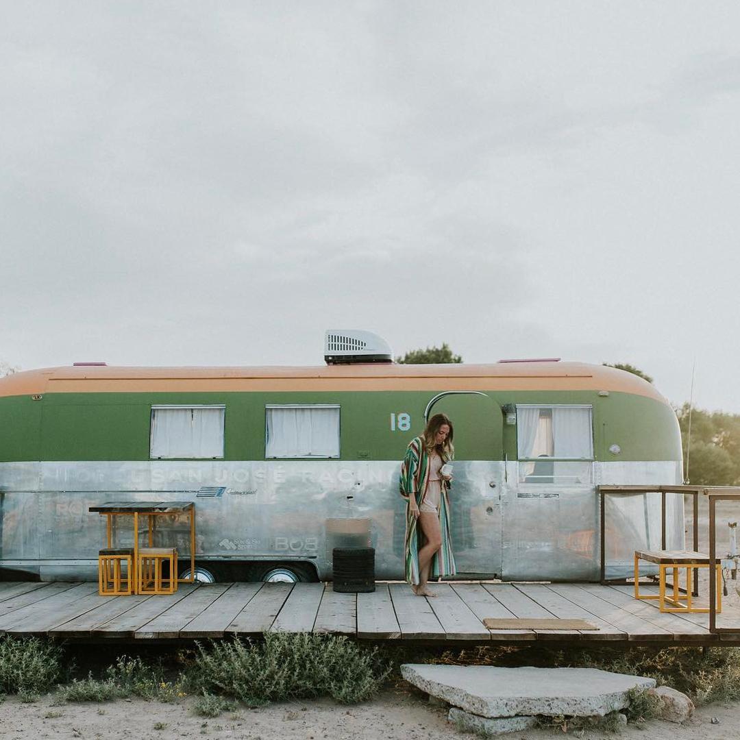 浪漫的野外露营 帐篷酒店El Cosmico