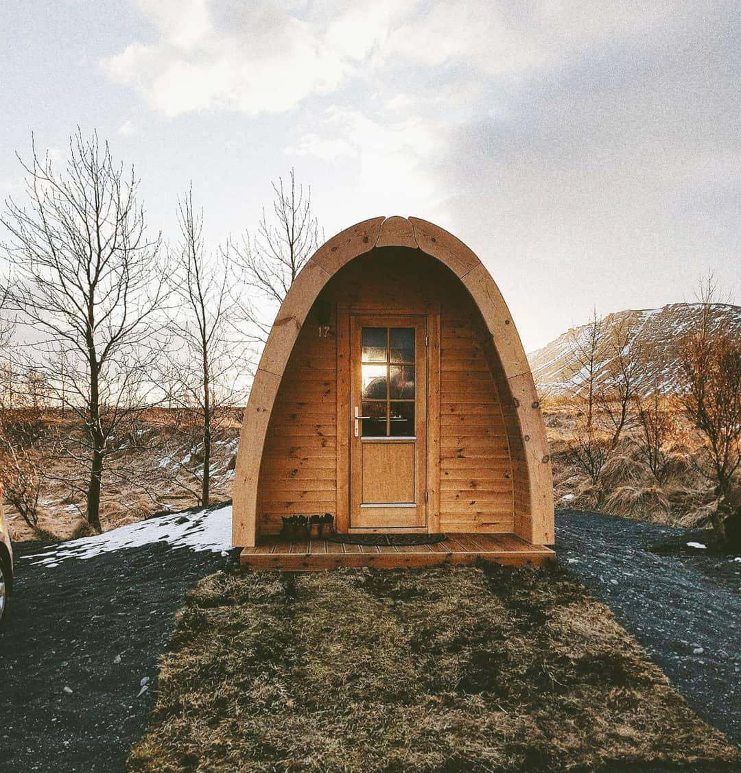 浪漫的野外露营 帐篷酒店福萨图恩豆荚