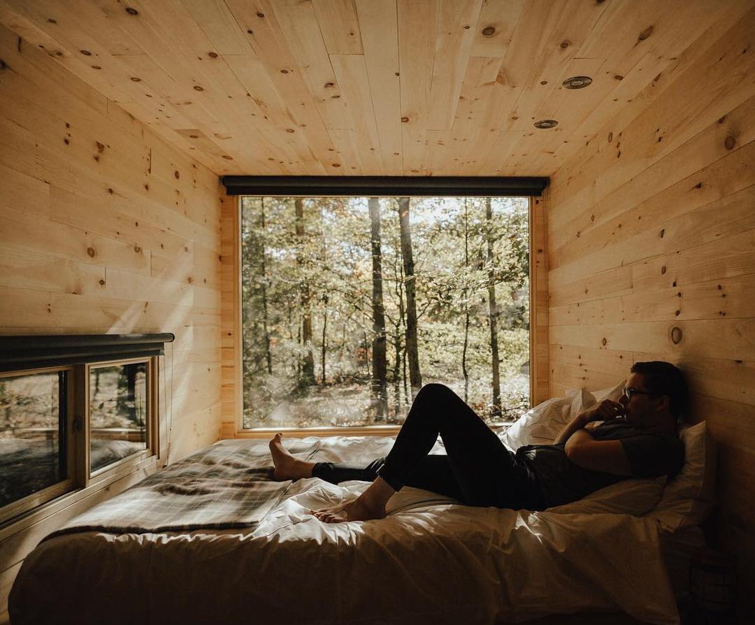 浪漫的野外露营 帐篷酒店度假屋