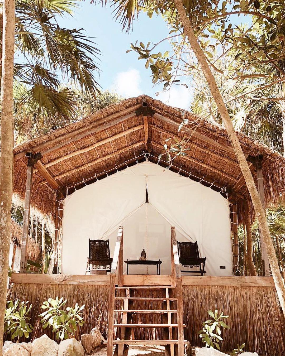 浪漫的野外露营 帐篷酒店哈比塔图卢姆