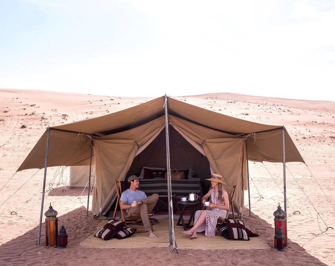 浪漫的野外露营 帐篷酒店哈德哈德旅行