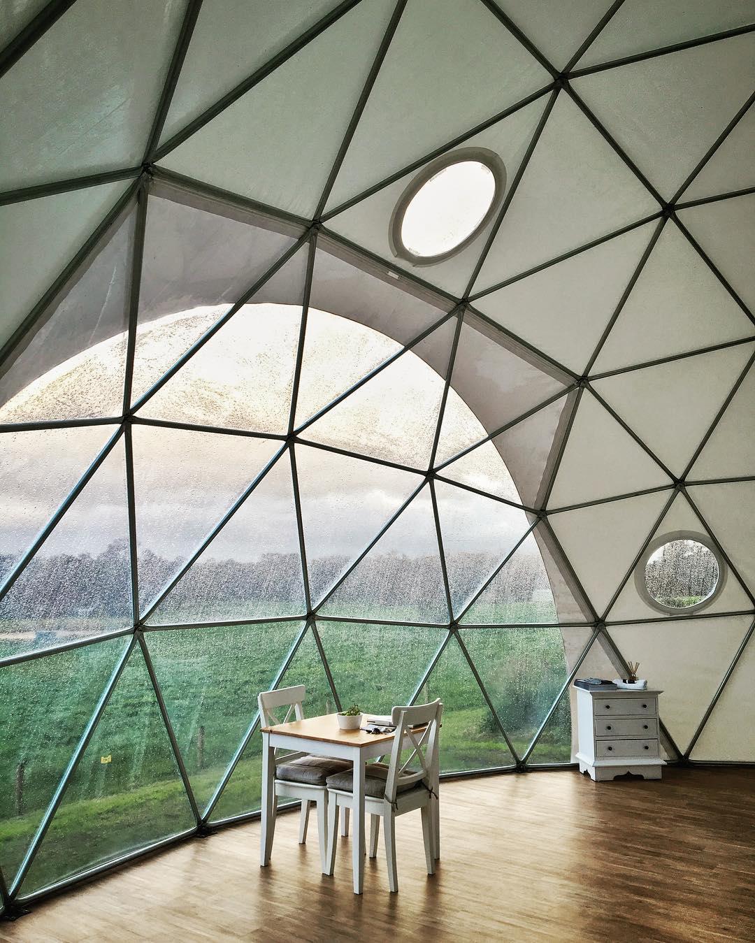 浪漫的野外露营 帐篷酒店英里末端豪华帐篷