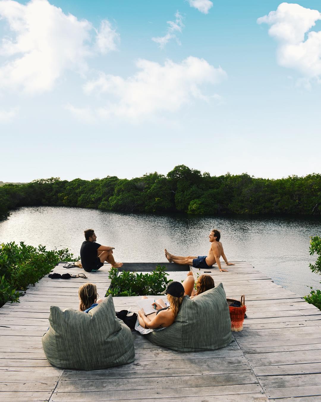 浪漫的野外露营 帐篷酒店Nativus Tulum