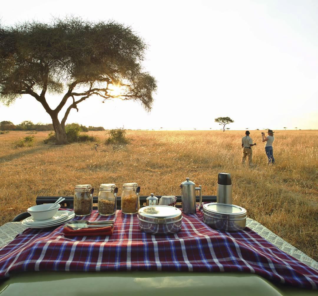浪漫的野外露营 帐篷酒店非洲Asilia的Ubuntu Camp