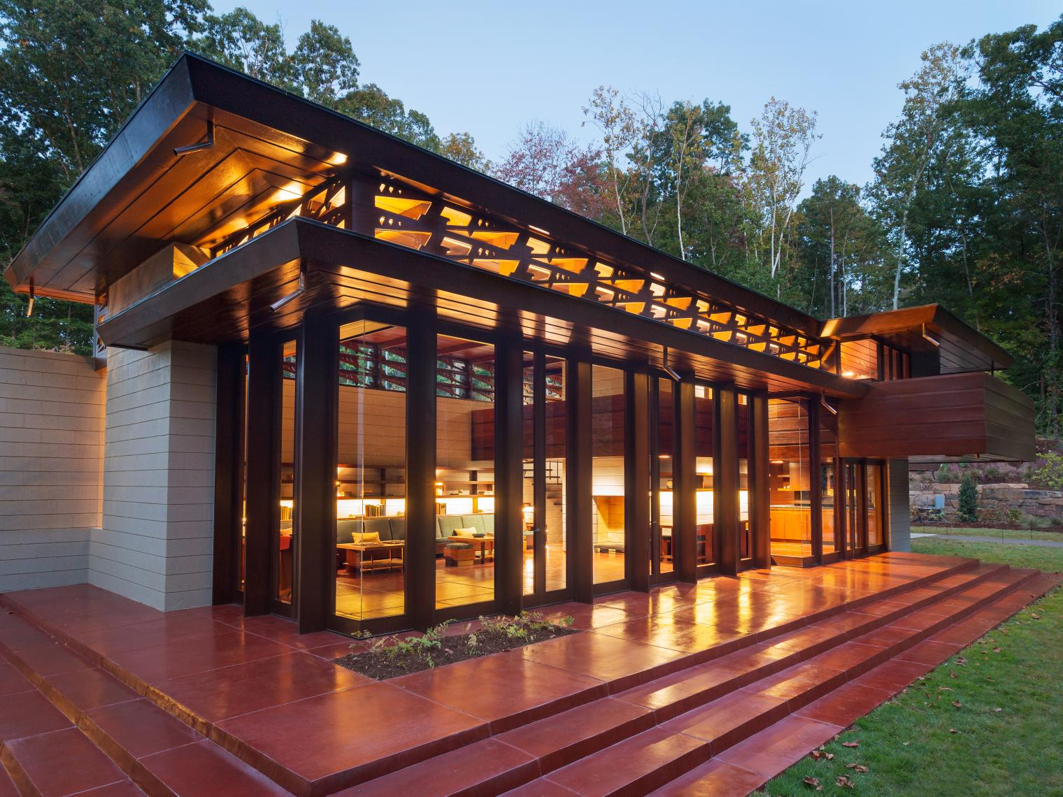 Frank Lloyd Wright Inspired Houses you can sleep inside some of these famous frank lloyd wright