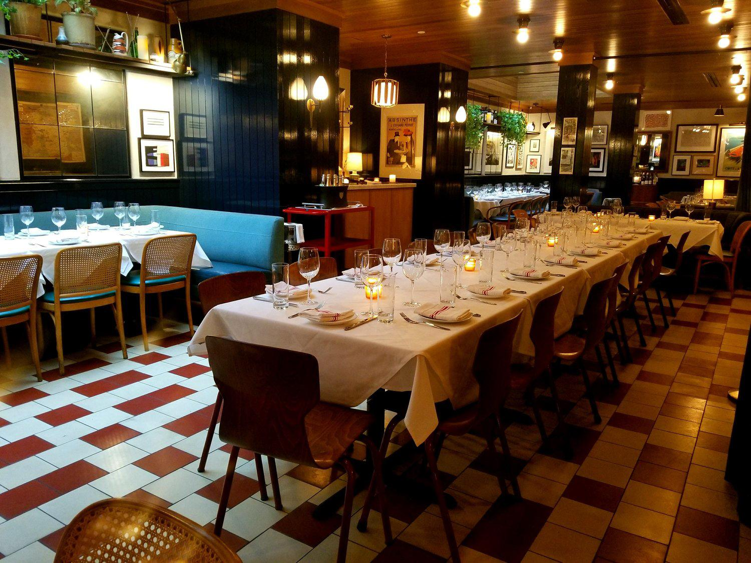 New York City S Buzziest Restaurants For Group Dinners