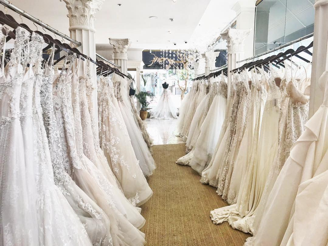 The Best Wedding Dress Boutiques Salons In Los Angeles