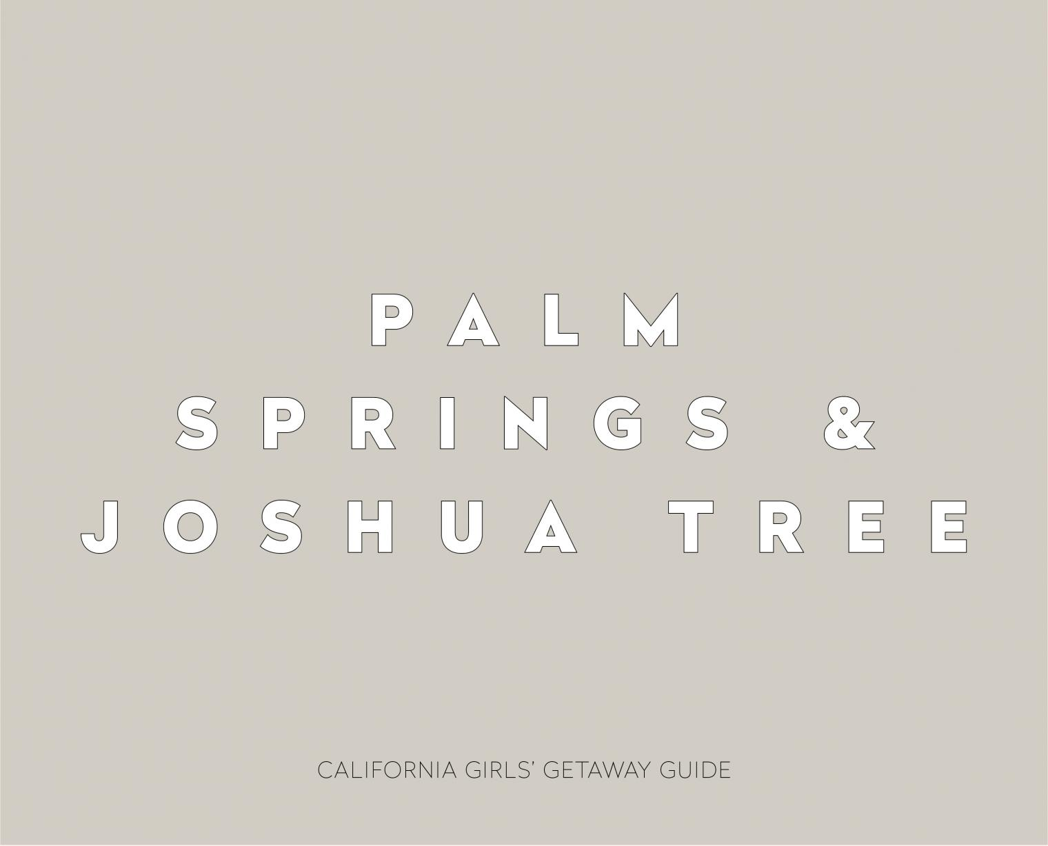 7 California Cool Girls Getaways