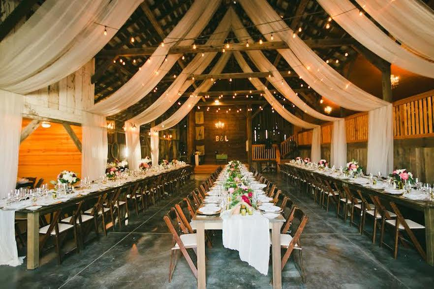 Top Wedding Barns In The Usa 2016