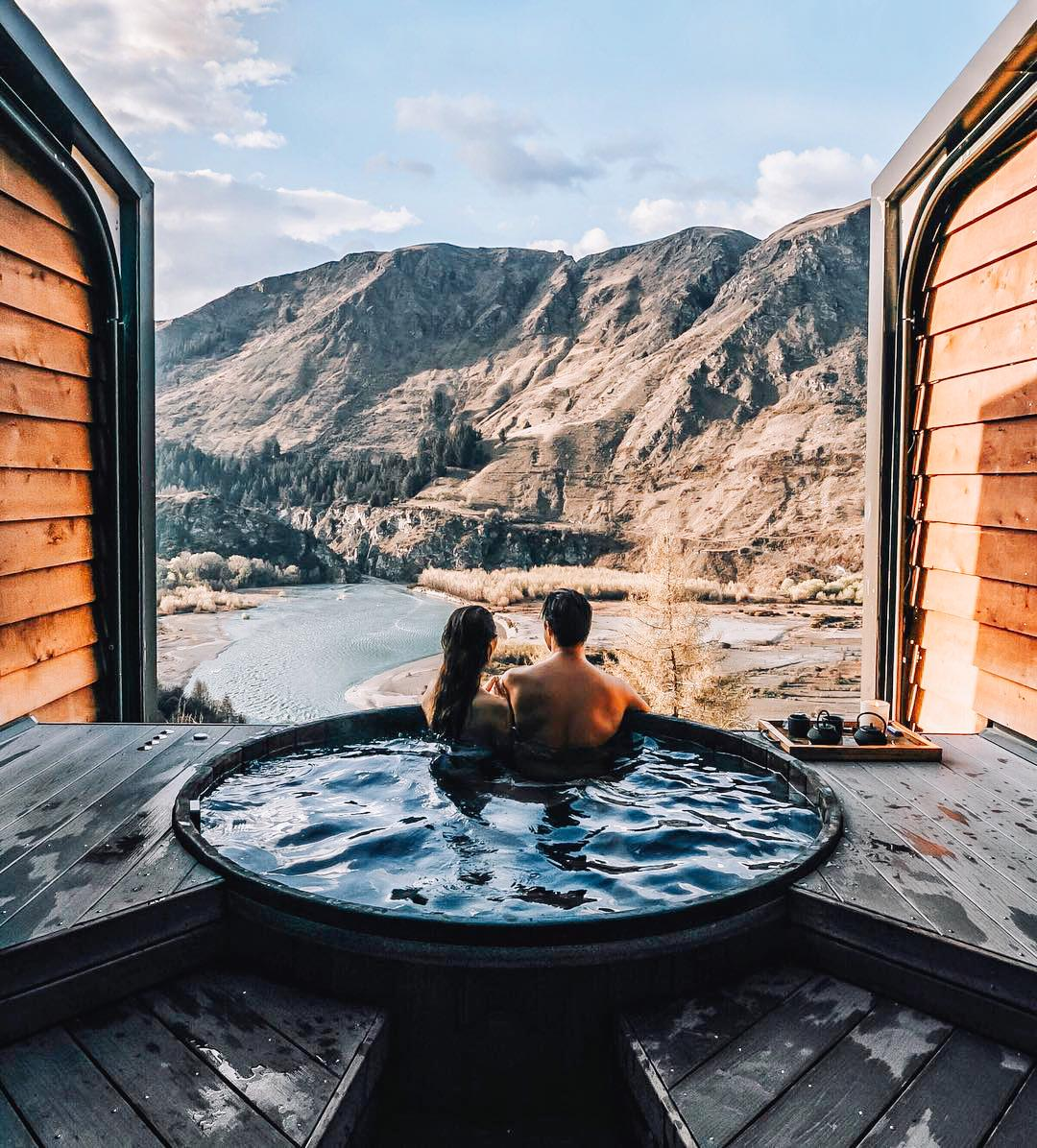27 Outdoor Hot Springs Tubs Pools To Warm Up Your Winter Travels