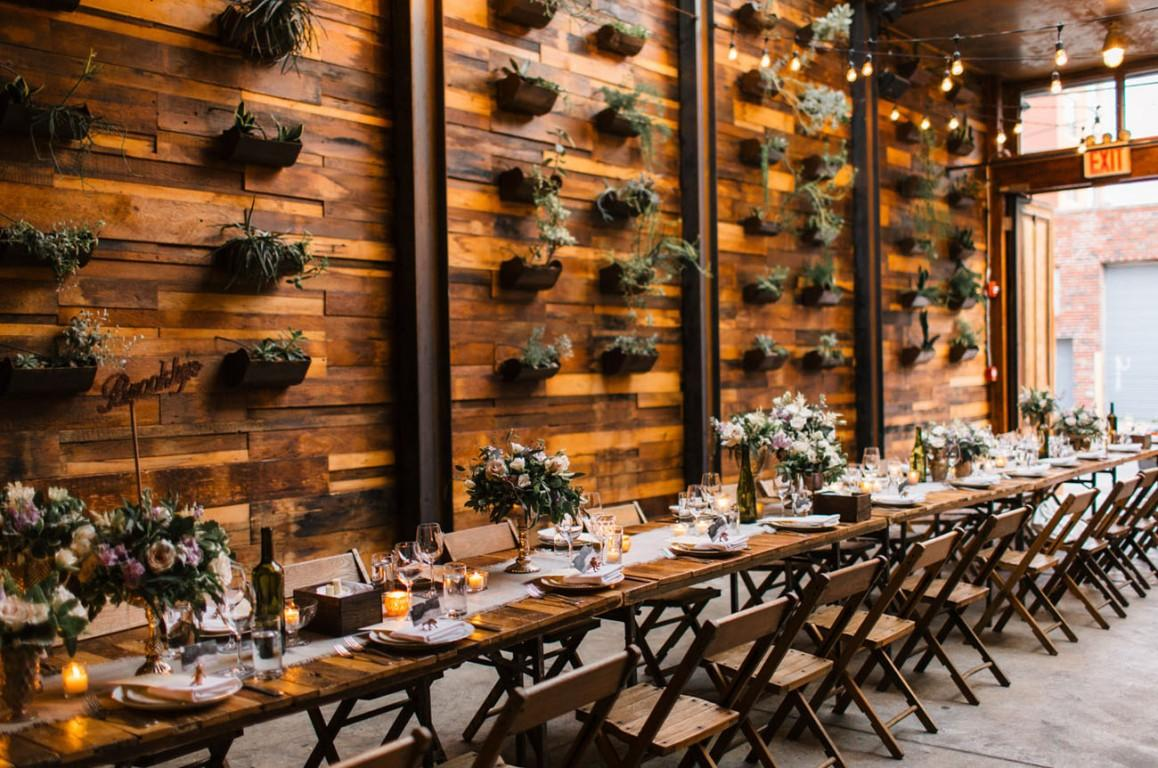 19 crazy cool wedding venues in brooklyn book venue space junglespirit Images