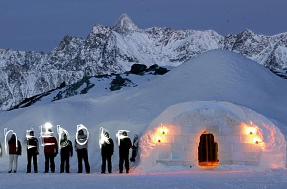 Glacier Glamping: 25 of the Coolest Ice Hotels, Igloo