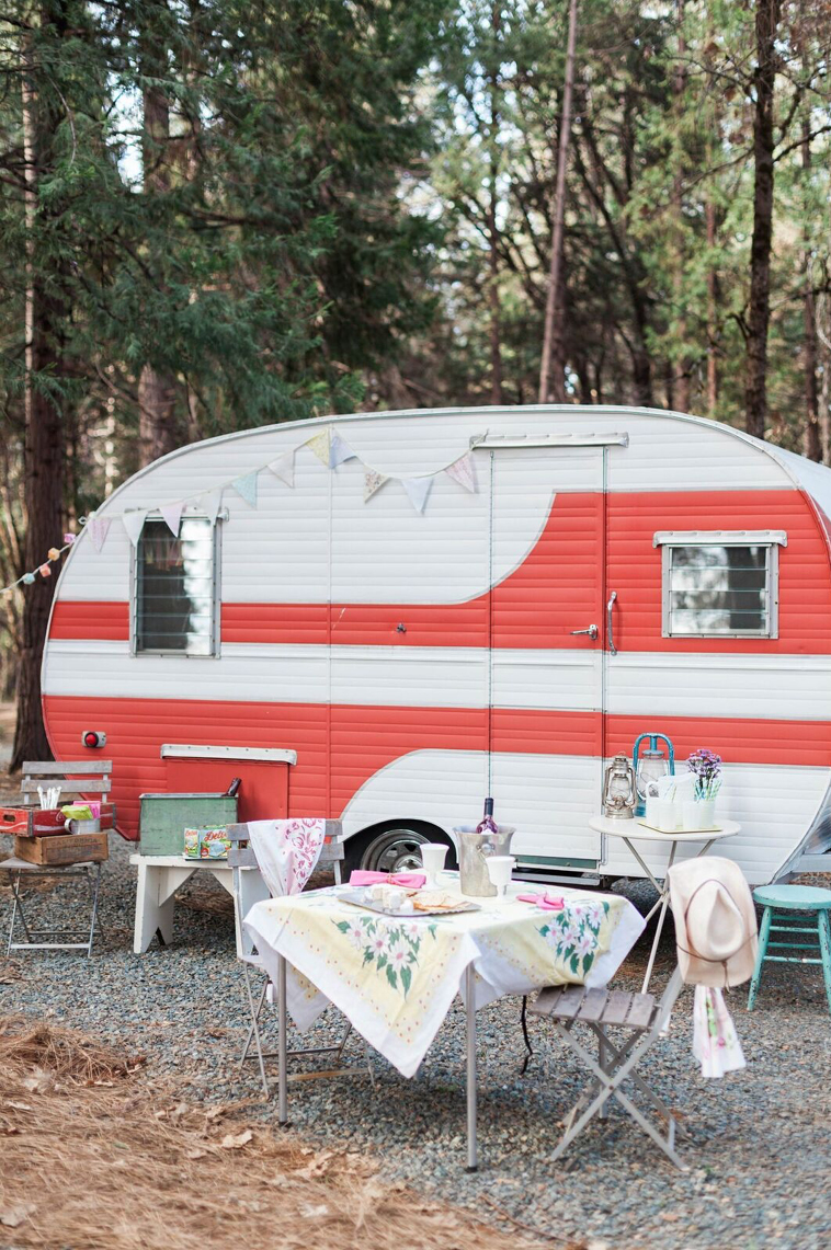 Girls Getaway at Inn Town Campground in Nevada City, CA
