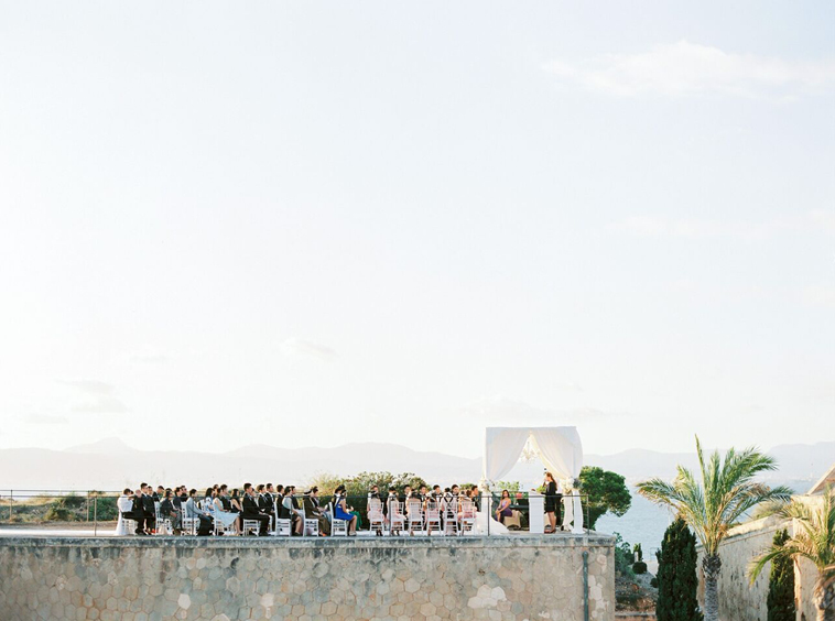 Wedding at Cap Rocat in Spain