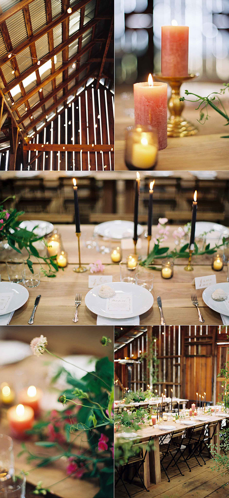 Table Setting at Coffey's Cove